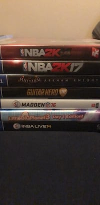 Assorted PS4 games Apopka, 32712