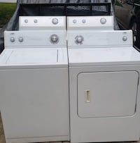 Whirlpool eEstate matching set.  Warranty and delivery.