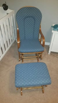 Glider/Rocker Chair with Ottoman