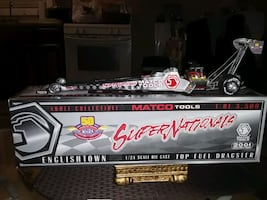 2001 TOP FUEL MATCO TOOLS DIE CAST DRAGSTER 1:24 S