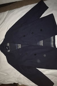 Cozy Medium men's peacoat (Navy Blue)