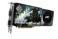 GEFORCE GTX 260 OC 896MB GDDR3 PCI-EXPRESS GRAPHICS CARD  Vancouver