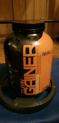 Rival Clean Gainer Vanilla. Practically brand new!