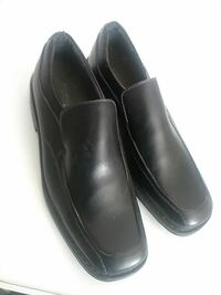 pair of black leather dress shoes Barstow, 92311