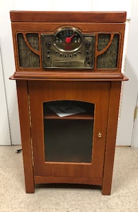 Crosley Bandmaster 3 in 1 Stack-O-Matic Record Player & Cabinet