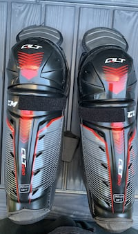 JR. hockey shin guards 12inch CCM QLT