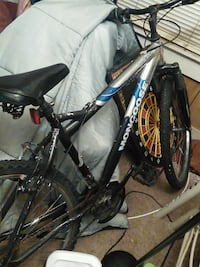 black and blue full-suspension bike Fort Smith, 72908