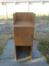 brown wooden cabinet side table Idaho Falls, 83402