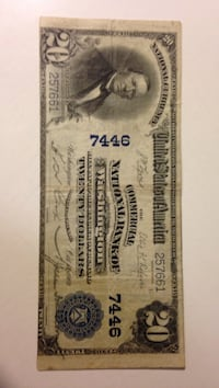 20 usa dollar bill Winchester, 22602