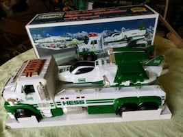 New Hess Toy Truck and Space Cruiser with Scout