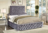 Extravagant Upholstered Bed TORONTO