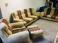 Great Condition 4 Piece Beige Sofa Set very very comfortable Fountain Inn, 29644