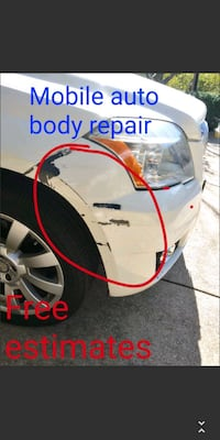 Mobile auto body repair Silver Spring