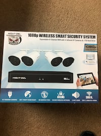 Factory Sealed Night Owl 1080p 1TB Wireless Security System