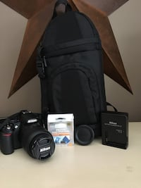 Nikon D3100 with Extras