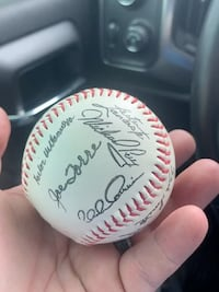 1989 St. Louis cardinals team signed baseball
