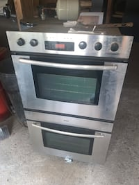 Stacking convection oven