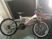 silver and green full suspension bicycle Hopkinton, 03229