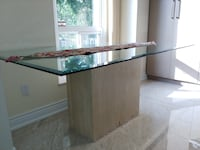 Glass Dining Table Markham, L3R 3S2