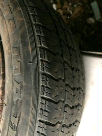 2 All Season Tires 175/65/14 with rims little rusted - Majestic  Toronto, M8W 1S3