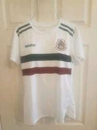 FIFA World Cup 2018 Mexico Womans White Jersey XL Imperial, 92251