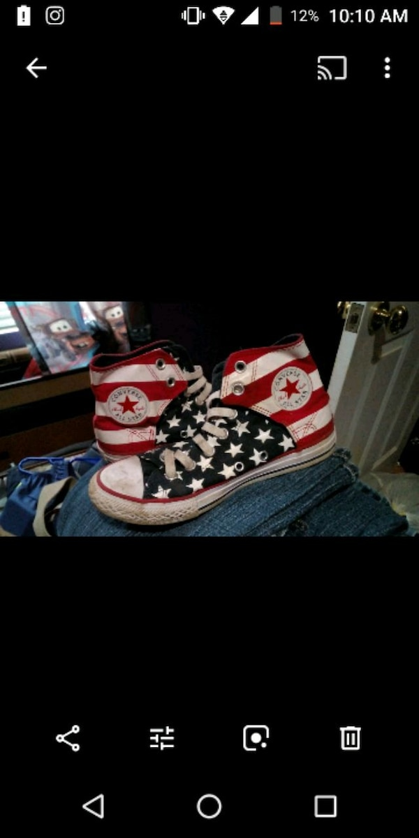 6c44e65a4715 Used Real Converse size 3 for sale in Somerset - letgo