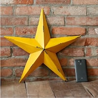yellow Star wall decor 邓肯, V9L