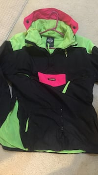 Exclusive Columbia lime green and pink jacket sz m Upper Marlboro, 20774