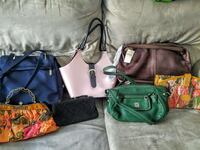 assorted leather tote bags and handbags Monroe, 98272