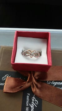 New heart & infinity ring size 7 Calgary, T1Y 2G5