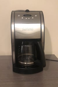 Cuisinart DGB-550BK Grind & Brew 12-Cup Automatic Coffee Maker Dearborn Heights, 48125