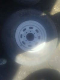 M+s Lt235/85R16 one only. 8 bolt patern Surrey, V3V 3M6