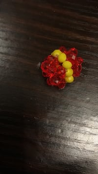beaded red and yellow accessory Brampton, L6X 0P4