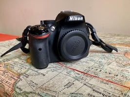 Nikon D5200 and lens, accessories
