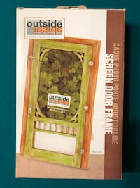 Photo frame Cottage screen door theme Waterloo, N2T 0A3