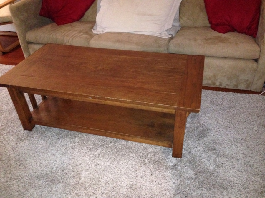 Brown Wooden Coffee Table In San Francisco Letgo