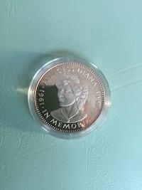 Princess Diana Memoriam Republic of Liberia 20 Dollar coin Alexandria, 22303