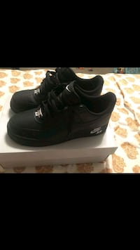 pair of black air force 1 low top sneakers Leon Valley, 78238