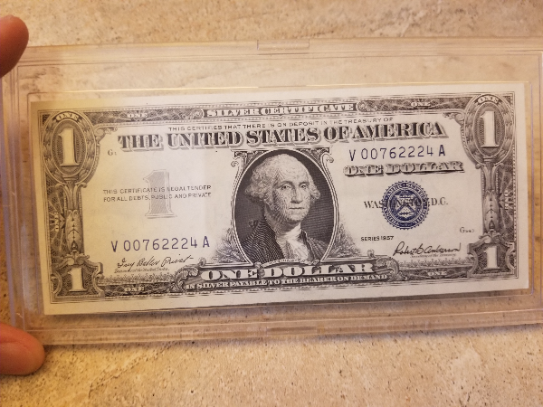Used 1957 One Dollar Silver Certificate for sale in Burbank - letgo