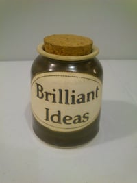 "Dr. Brophy's Word Jar ""Brilliant Ideas"" West Springfield"