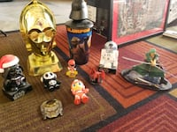 Starwars cookie jar and other misc toys Las Vegas, 89117