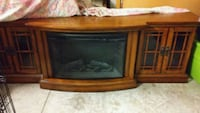 Electric fire place all wood Wilmington, 28412