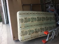 white and brown floral mattress Calgary, T2A 3G3