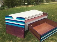 Twin Bed with HUGE Drawer and Mattress