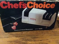 white Chef's Choice diamond hone sharpener box Elizabethton, 37643