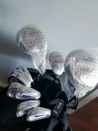 Partially Unused Ram golf clubs w/ bag Vancouver, V6Z 3G5