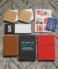 Lot of 8 - Notebooks, Notepads, Journals Lined/Blank UNUSED Stationary Markham, L3P 0C8