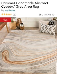 Brand new area rug 5x8 viscouse and wool Mississauga, L5J 4E6