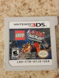 Lego the movie video game Nintendo 3ds$10