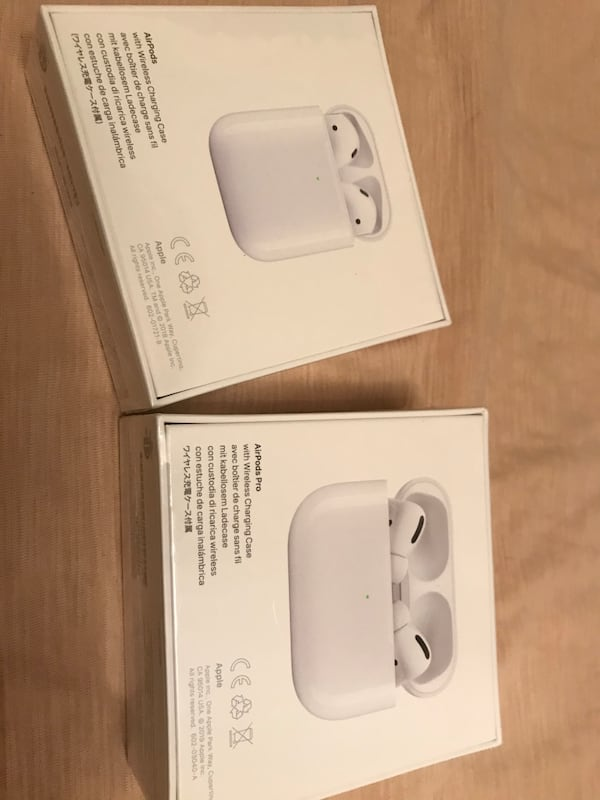 Used Apple Airpods Pro And Apple Airpods With Wireless Charging